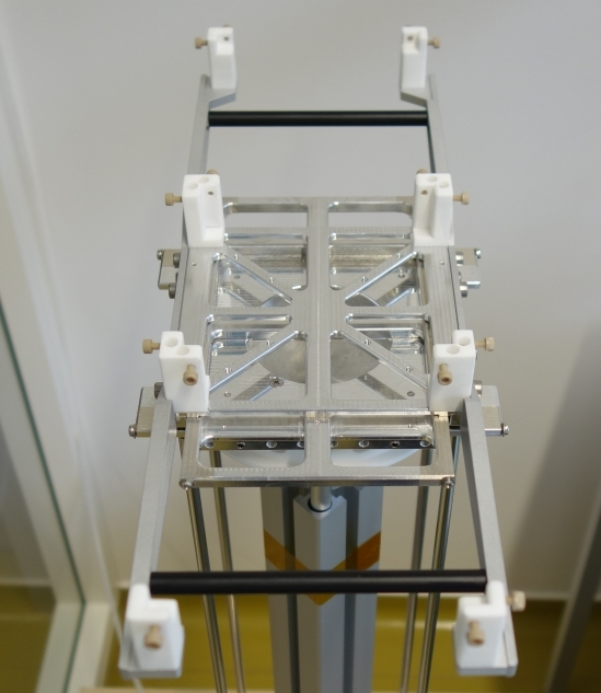 ESA OPS-SAT on NanoSat Air Bearing